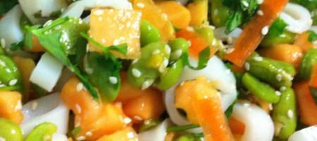 Salade fraicheur exotique