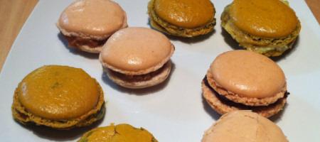 Macarons à «l'Atelier des Chefs»